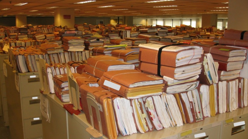 legal records backlogs