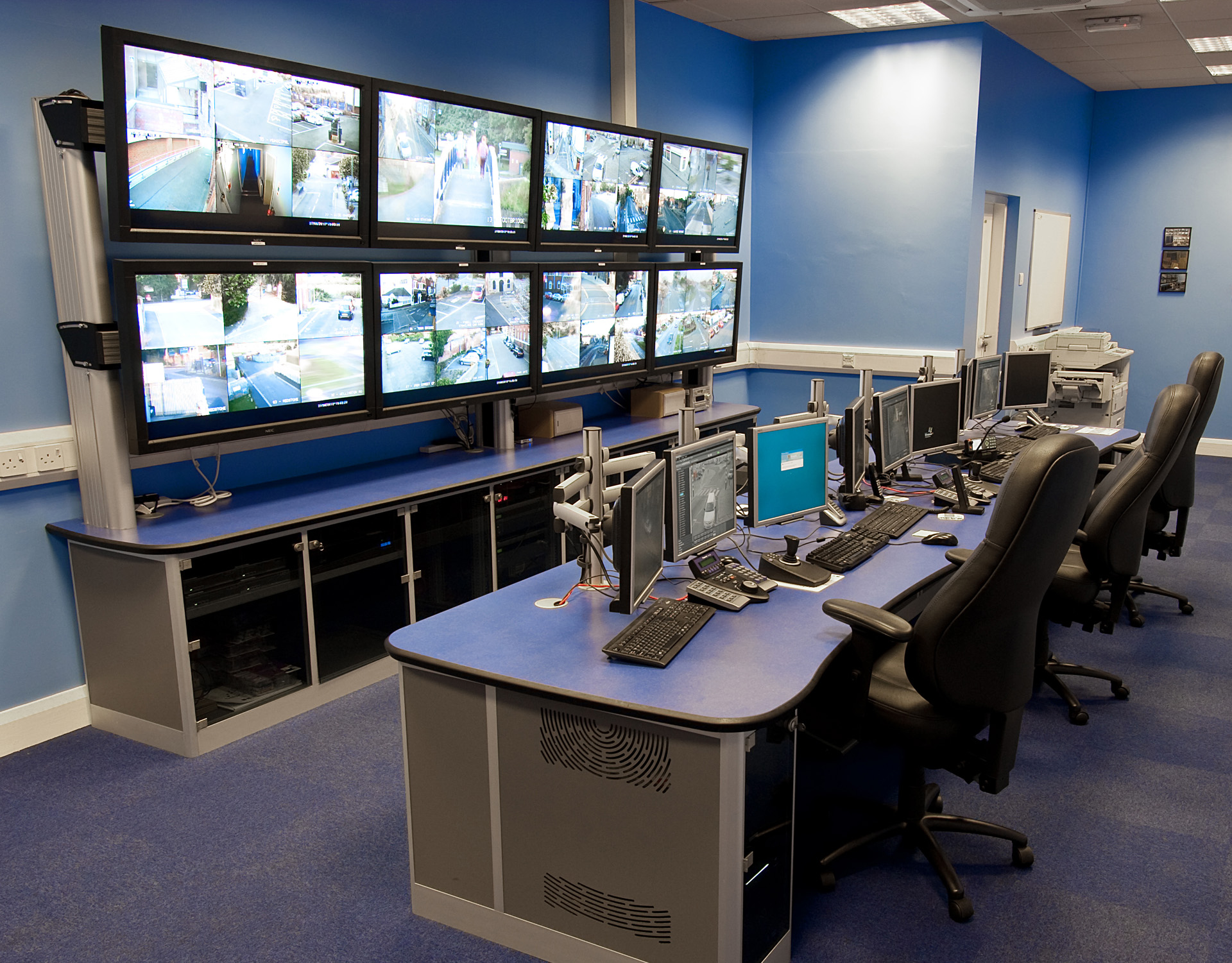 Floor plan for CCTV Control Room