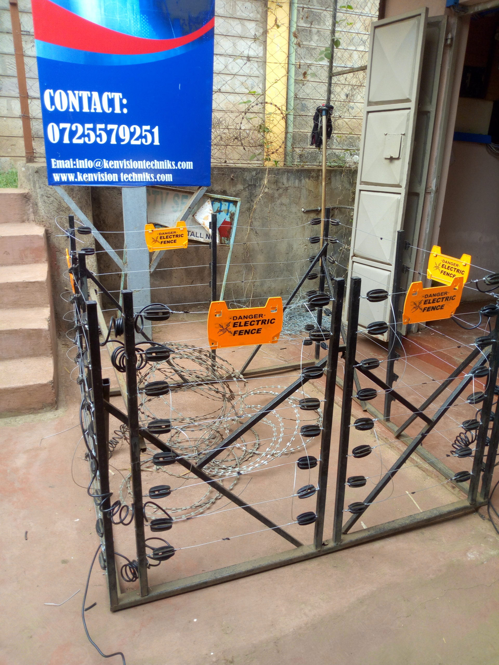 Electric Fence Training model
