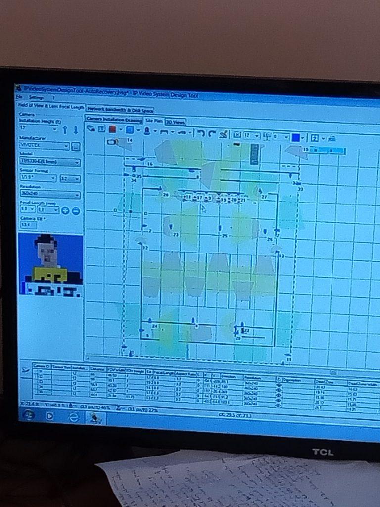 CCTV System Design and Planning